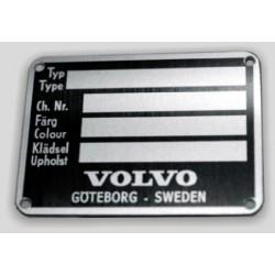 Volvo vin tag