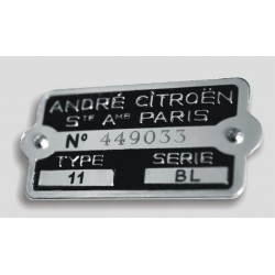 Citroen body tag