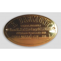 Darmont Id plate